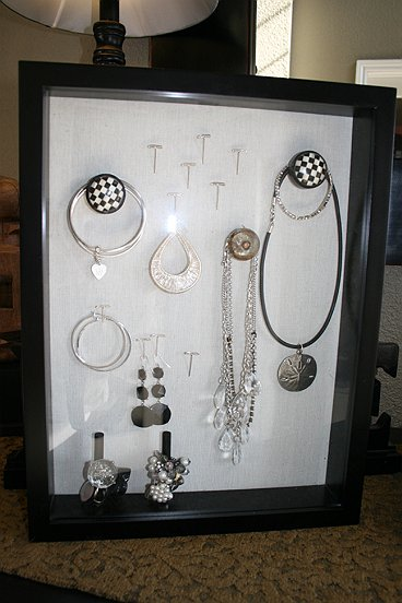 Shadow Box Jewelry Storage Display REAL RESULTS